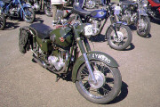 Matchless Motorcycle & 1969 BSA Starfire