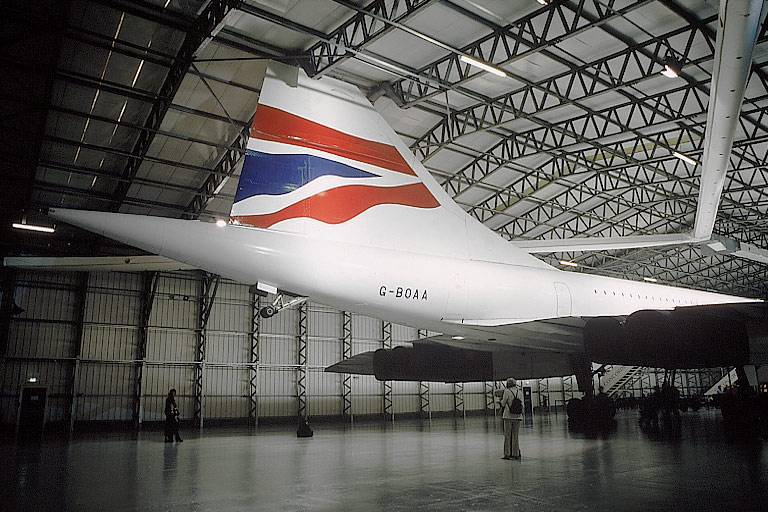 Concorde G-BOAA at the Museum Of Flight.