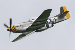 North American P-51D Mustang G-MSTG