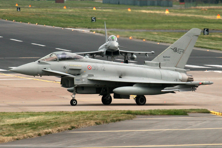 Eurofighter EF-2000 Typhoon Ss 36-12 and 36-02