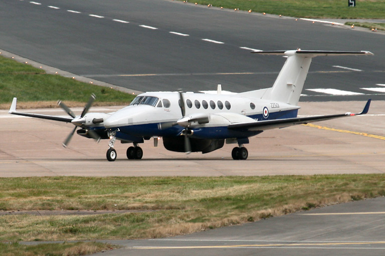 Hawker Beechcraft King Air 350CER Avenger T1 s/n ZZ501