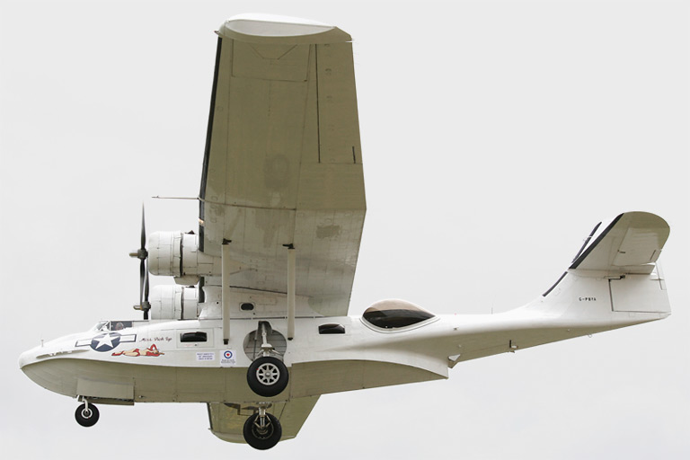 "Canadian Vickers PBY-5A Canso s/n G-PBYA ""Miss Pick Up"""