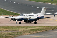 King Air 350CER Avenger T1 ZZ501