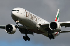 Emirates Boeing 777-31H/ER A6-ECY