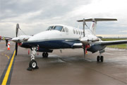 "Raytheon B200 Super King Air ZK456 ""Valkyrie"""