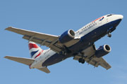 British Airways Boeing 737-528 G-GFFE