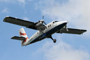British Airways De Havilland Canada DHC-6-310 Twin Otter G-BZFP