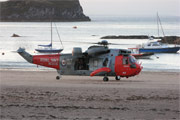 Royal Navy Westland Sea King HU5 XZ920